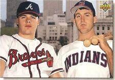 1992 Upper Deck Star Rookie Checklist #1 Jim Thome / Ryan Klesko