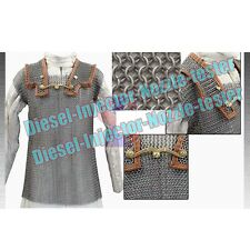 Roman Chainmail Hamata Medium 9mm Butted Chainmaile Shirt Armour Haubergeon