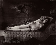 1912 Vintage New Orleans FEMALE NUDE PROSTITUTE Louisiana Photo Art E.J. BELLOCQ