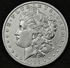 1896-o Morgan Silver Dollar.  A.U.  95489