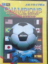 SEGA MEGA DRIVE (MD) Champions World Class Soccer (Japanese version) *US Seller