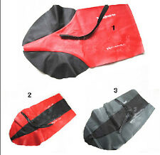 Motorcycle seat cover with Strap for HONDA XR250 XR400 CRM250 AX-1 AX-2 CRF250
