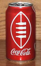 "NM 2016 USA COCA-COLA ""FOOTBALL w/BOTTLE LACES"" 12oz 355mL SODA CAN w/CONTENTS"