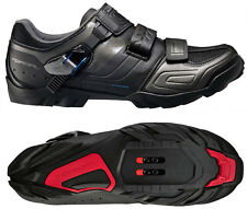 Shimano SH-M089LE Mountain Bike MTB Shoes Black - 43E (US 8.9) Wide Width
