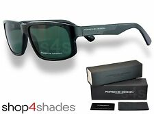 Porsche Design Sunglasses BLACK CARBON_GREEN P8547 A V717