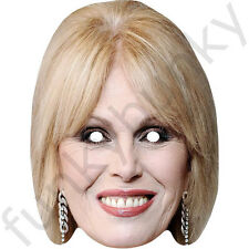 Joanna Lumley Celebrity Card Mask - All Our Masks Are Pre-Cut!