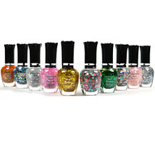 Kleancolor Nail Polish GLITTER SET! Lot of 10 Lacquer