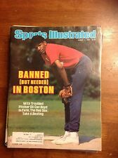 August 4 1986 Oil Can Boyd Boston Red Sox Baseball Sports Illustrated Magazine