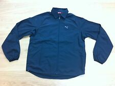 NEW PUMA GOLF LS PRO WIND SHIRT BLACK M MEDIUM RARE JACKET MENS COAT L@@K