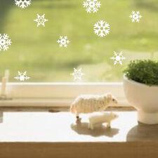 Beautiful Removable Christmas Window Sticker Snowflakes Stick Glass Wall Sticker