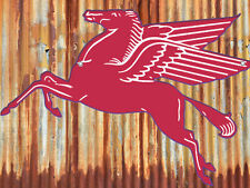 Mobil Pegasus Flying Red Horse Sign