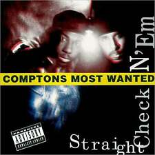 COMPTON'S MOST WANTED : STRAIGHT CHECKN'EM (CD) sealed