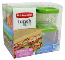 Lunch Blox Sandwich Kit New Microwavable Food Storage Container FREE SHIPPING