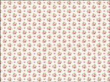 Vintage Floral Rosa Estampado De Flores A4 Glaseado Hoja Cake Topper Comestible Decoración
