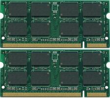 4GB 2X 2GB DDR2-800MHz PC2-6400 SODIMM Memory RAM for Laptop Computers
