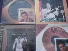 ELVIS PRESLEY S/T RCA IS BACK DCC WAY IT IS MFSL 24 KARAT GOLD & CREOLE 4 CD SET
