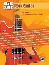 The Big Easy Book Of Rock Guitar (The Big Easy Guitar Series) by Hal Leonard Co