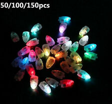 50pcs Colorful LED Lamp Lights For Balloon Paper Lantern Wedding Party Decor