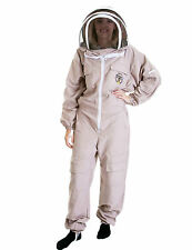 Lightweight BUZZ Beekeepers Bee suit - Colour latte, Size: EXTRA SMALL