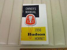 1956 Hudson Hornet Owner's Manual NOS