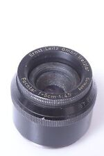 LEICA, LEITZ COATED FOCOTAR 5CM, 50MM 4.5 ENLARGER, ENLARGING LENS 39MM SIZE