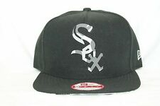 New Era MLB 9Fifty CHICAGO WHITE SOX Reverse Camo 950 Snapback Cap Hat NWT Black