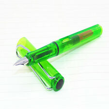 High quality YIREN 566 Transparent  Green Fountain Pen New