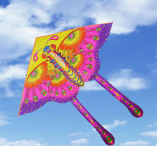 1pc Children's Toy 50-CM Outdoor Fun Sports Printed Long Tail Butterfly Kite
