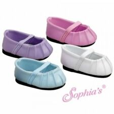 Purple Baby Doll Shoes for American Girl Doll Bitty Babies & Twins 12