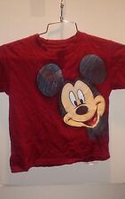 MICKEY MOUSE 2 SIDED T-SHIRT Red small Disneyland