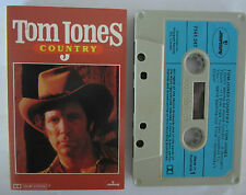 TOM JONES COUNTRY AUSTRALIAN RELEASE CASSETTE TAPE