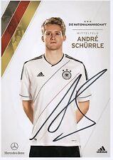 Originalautogramm - Andre Schürrle (DFB AK 2012)