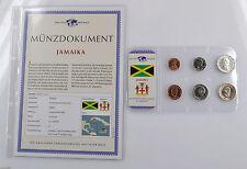 Das Geld der Welt Kursmünzensatz KMS mit Münzdokument Jamaika