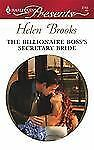 VG, The Billionaire Boss's Secretary Bride (Harlequin Presents), Helen Brooks, 0