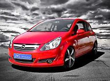 JMS course Front Becquet Lèvre pour Opel Corsa D à Facelift sans OPC