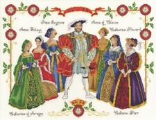 DMC - HENRY VIII (the Eigth and his Six Wives) CROSS STITCH KIT (K3403)