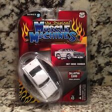 MUSCLE MACHINES 67 CHARGER DIE CAST CAR 1/64 1967 DODGE