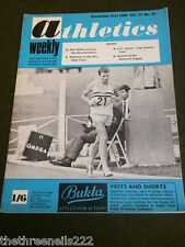 ATHLETICS WEEKLY - PAUL NIHILL - DEC 21 1968