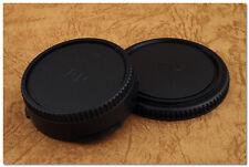 Lens Cap Set Canon FD Mount Body + Rear Cap F-1 FTb AE-1 T90 TLb TX T50 AL-1