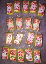 SBI Lot of 10 - 2000 Nintendo Cracker Jack Pokemon Spy Scopes In Sealed Bags