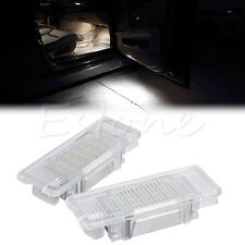2X LED Courtesy Under Door Footwell Luggage Light Lamp for BMW X5 E53 E39 Z8 E52