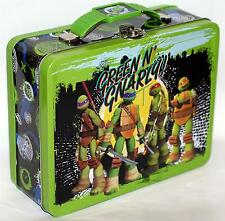 TEENAGE MUTANT NINJA TURTLES TMNT Tin Tote WORK HOBBY TOOL SNACK LUNCH BOX A New