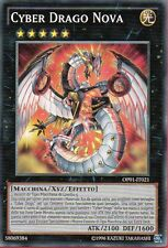 YU-GI-OH ! - CYBER DRAGO NOVA - OP01-IT021 - NM - Italian