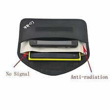Cell Phone Anti-tracking Anti-spying GPS Rfid Signal Blocker Pouch Case Bag New