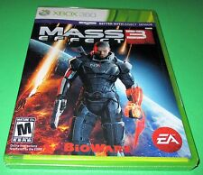 Mass Effect 3 Microsoft Xbox 360 *Factory Sealed! *Free Shipping!