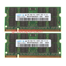 NEW Samsung 4GB 2X 2GB PC2-5300 DDR2-667Mhz SODIMM Memory RAM For APPLE Macbook