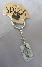 ROMAN SPORTS TAG SOCCER  KEY CHAIN ON TAG 1998
