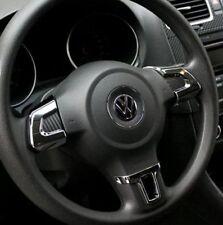 VW Volkswagen Golf 6 VI Lenkrad Blenden Abdeckung Clip Silber Chrom MK5 MK6 Polo