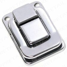 10 x SMALL CHROME TOGGLE CASE CATCH Suitcase Trunk Latch Box Flight Snap Clasp