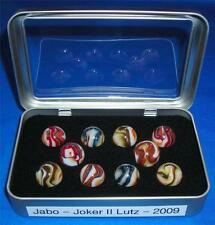 "Jabo -  Joker II - Awesome ""Lutz"" Marble Set - 2009   -  042513-2  RK  TN"